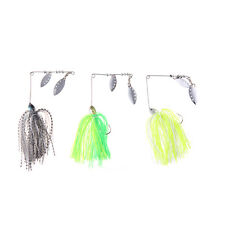 Fishing Lure Spinnerbait Bass Walleye Crappie Fishing Tackle with Jig Hook 12g