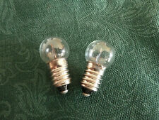2  x Flashing 15mm MES Bulbs Toy Dolls House Model  Project 1.5 2.5 3.5 6 Volt