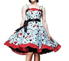 HELL BUNNY 50s Rockabilly DIXIE DRESS Pin Up Vintage All Sizes