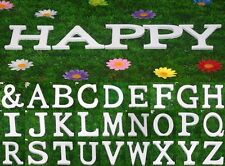 8cmX1cm(thick) Wooden Wood Letters Alphabet Birthday Wedding Party Home Decor