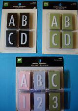 NEW MAILBOX ALPHABETS  * Your Choice Design * Letters Alphabet  MAKING MEMORIES
