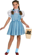 Girls Child WIZARD OF OZ Deluxe Dorothy Cotton Dress Costume