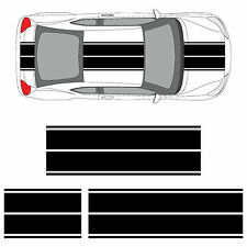 Scion tC or FR-S Dual Rally Racing Stripes 3M Vinyl Double Stripe Decals