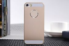 Luxury  Aluminum Metal Shockproof Brushed Hard Cover Case For iPhone 5 5S