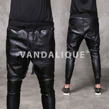 Leather Effect Heavy Coated Skinny Jersey Pants 28 33 A$AP FABRIXQUARE p423 #4