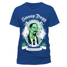 SNOOP DOGG Grown In California T-shirt (Blue) Mens New 'Official' Doggystyle