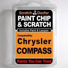 Chrysler COMPASS Touch Up Paint Stone Chip Scratch Repair Kit 2007-2014