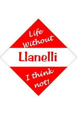 Llanelli Car/window signs / Personalised signs / flexible magnets
