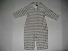 Baby Gap Little Boys size 0 3 6 9 12 18 24 m Striped 1 Piece Romper NWT U PICK