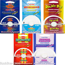 SWEETS CAR AIR FRESHENER GEL POT DRUMSTICK REFRESHER DOUBLE DIP PARMA VIOLET