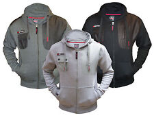 Mens Fleece Full Zip Hoodie Max Edition MSW 14 Hooded Sweatshirt Top Jacket