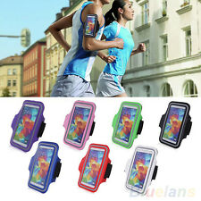 For Samsung Galaxy S5 i9600 Sport Running Armband Holder Pouch Case Cover BF2U