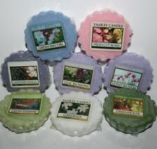 YANKEE CANDLE TART MELT ** LOVELY FLORAL SCENTS ** WAX POTPOURRI TARTS MELTS