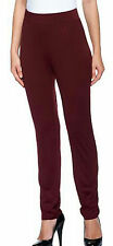NEW SUSAN GRAVER Essentials Butterknit Slim Leg Ankle Pants