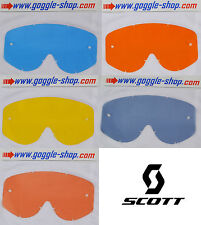 GOGGLE-SHOP MOTOCROSS MX goggle REPLACEMENT TINT LENS fits SCOTT 80'S 89 RECOIL