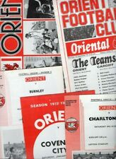 Leyton Orient HOME programmes 1970s FREE P&P UK Choose from list