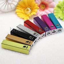 Aluminum USB Mobile Cell Phone 18650 Power Bank Backup Battery Charger Case Box