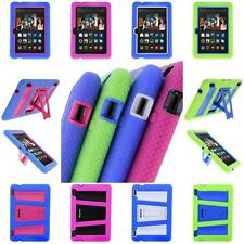 Amazon Kindle Fire HDX7 Rugged Impact Hybrid Armor Kickstand Stand Case Cover
