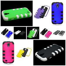 Hybrid TPU + Hard Snap-On Slim Tough  Phone Cover Case for Samsung Galaxy S4