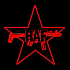 RAF (RED ARMY FACTION rote armee fraktion poster vintage baader meinhof) T-SHIRT
