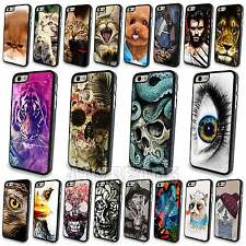 Various Animal Tiger Lion Skull Pattern Case Cover For Apple Iphone 4 4S 5 5S 5C