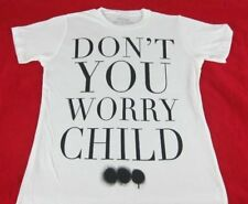 New Womens Mens White Swedish House Mafia Don't You Worry Child T-Shirt Size S M
