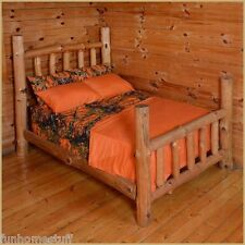 ORANGE Woods Hunter Microfiber Camouflage Camo Bed Sheet Set all Sizes in Stock