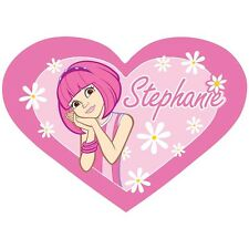 Lazy Town Stephanie Teppich in Herz Form