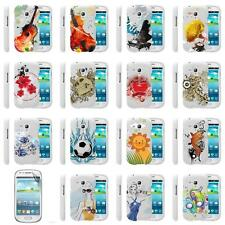 Samsung Galaxy S3 Mini I8190 III Rubberized Hard Snap On Phone Case Cover Skin