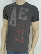 American Eagle Outfitters AEO US-7 Tee Printed T-Shirt Dark Gray New NWT