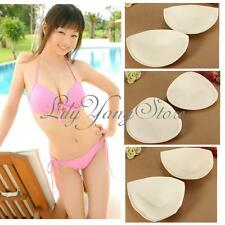 2pcs Sexy Women Foam Top Insert Breast Enhancer Push Up Bra Pads Bikini Swimwear