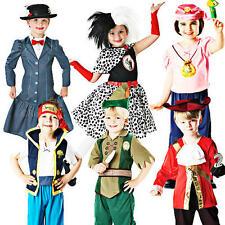 Disney Movie Characters Kids Fancy Dress Book Week Childrens Costume Outfits New