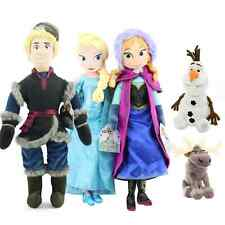 Disney Frozen Princess Plush Doll Toy Girl Gift Elsa Anna Sven Olaf Kristoff New