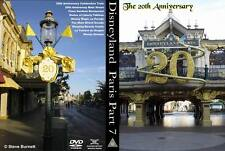 Eurodisney - Disneyland Paris Part 7 - The 20th Anniversary DVD or Blu-Ray (NEW)