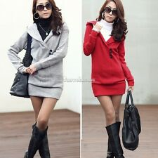 Women's Hoodie Long Sleeve Jacket Coat Hooded Sweater Sweatshirt Outerwear