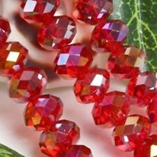 Wholesale Swarovski Crystal Gemstone Loose Beads -Red+AB