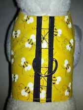 DOG CAT FERRET~Couture Adorable Harness Bumble Bee BZZZ