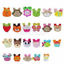 Animals Cotton Saliva Towel waterproof Infant Bibs Kids Boy Girl Baby Lunch Bibs