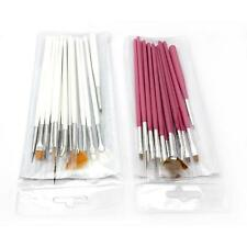 15in1 Nail Care Art Decoration Painting Dot Draw Brush Salon Pens Set for UV Gel