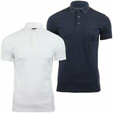 Mens Polo T Shirt French Connection/ FCUK Short Sleeved Sneezy Jersey