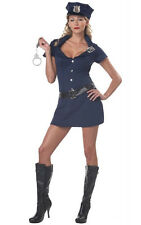 NIB Sexy naughty cop officer Police Women Outfit Dress Adult