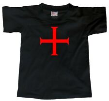 KNIGHTS TEMPLAR CROSS (Holy Land Jesus Temple of Solomon Christ faith) T-SHIRT