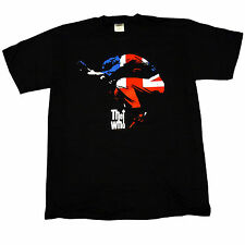 The Who Pete Townshend Union Jack Leaping OFFICIAL T-Shirt