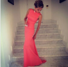 Women's Red Sleeveless Party Long Dress Summer Hot Sale