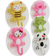 Cheap Cute Cartoon Animal Pattern DEsign Kitchen Shower Bathroom Suction Hook