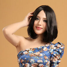 New Fashion Medium Long Women's Curly Wavy Hair Full Wig/Wigs Cosplay Party