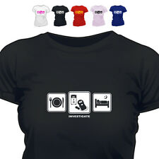 Paranormal Ghost Hunter Emf Gift T Shirt Investigate Daily Cycle