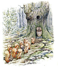 The Tale of Squirrel Nutkin 7 ~ Counted Cross Stitch Chart ~ Beatrix Potter