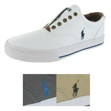 Polo Ralph Lauren Vito Men's Canvas Slip On Sneakers Shoes Boat