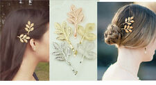 H30 Forever 21 Hair Brial Brides Wedding Accessories Leaf Hairpin Hairpins US